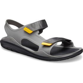 Crocs Swiftwater Expedition Sandals Men slate grey/black